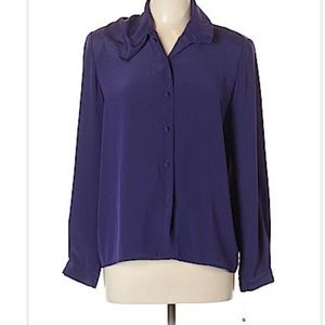 Tops - Weather Vane blue size 10 blouse